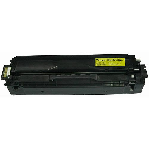 Compatible Samsung CLT-Y504S Yellow toner cartridge cartridge - 1,800 pages