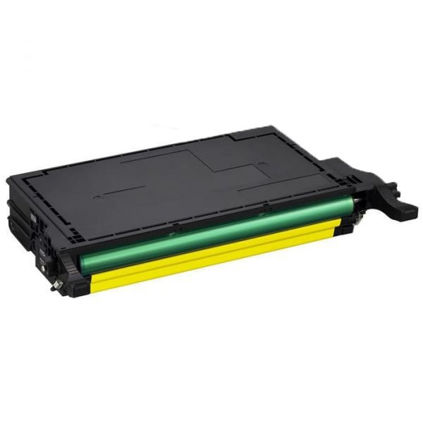 Compatible Samsung CLT-Y609S Yellow toner cartridge - 7,000 pages