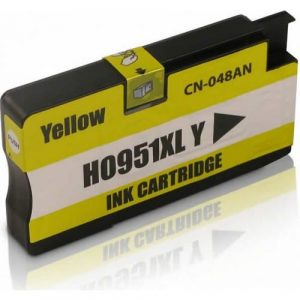 Compatible HP 951XL (CN048AA) Yellow High Yield ink cartridge - 1,500 pages