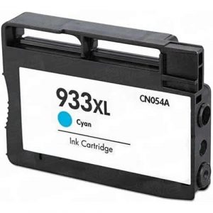 Compatible HP 933XL (CN054AA) Cyan High Yield ink cartridge - 825 pages