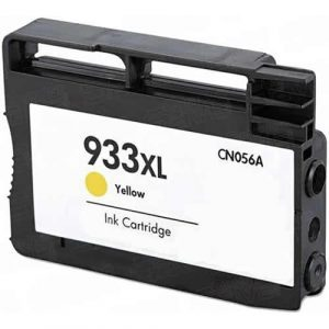 Compatible HP 933XL (CN056AA) Yellow High Yield ink cartridge - 825 pages
