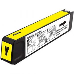 Compatible HP 971XL (CN628AA) Yellow High Yield ink cartridge - 6,600 pages