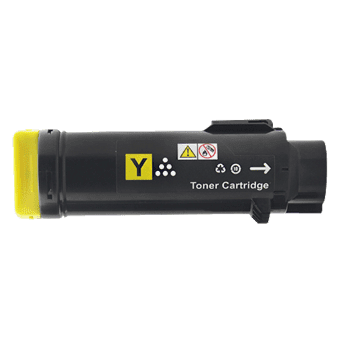Compatible Xerox CT202613 Yellow toner cartridge - 6,000 pages