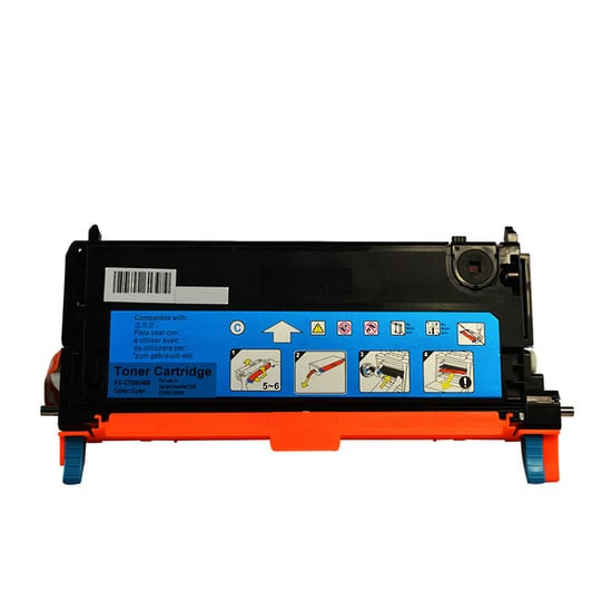 Compatible Xerox CT350568 Cyan toner cartridge - 6,000 pages