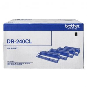 Genuine Brother DR-240CL (B,C,M,Y) imaging drum unit - 15,000 pages