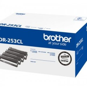 Genuine Brother DR-253CL (B,C,M,Y) imaging drum unit - 18,000 pages
