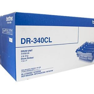 Genuine Brother DR-340CL (B,C,M,Y) imaging drum unit - 25,000 pages