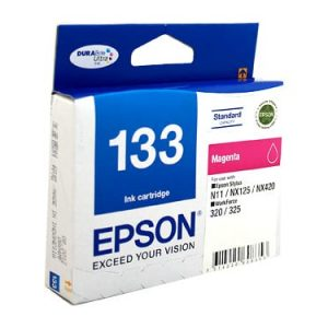 Genuine Epson 133 Magenta High Yield ink cartridge - 305 pages