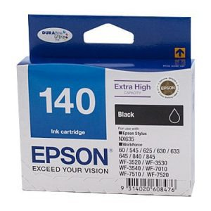 Genuine Epson 140 Black Ultra High Yield ink cartridge - 945 pages
