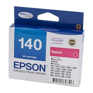 Genuine Epson 140 Magenta Ultra High Yield ink cartridge - 755 pages