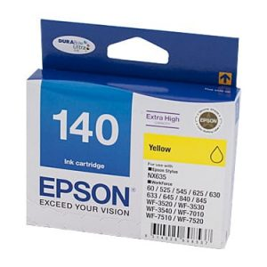 Genuine Epson 140 Yellow Ultra High Yield ink cartridge - 755 pages