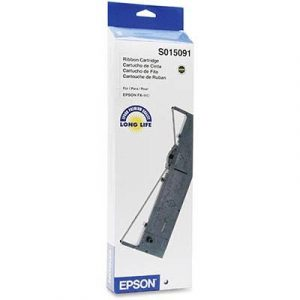 Genuine Epson S015091 Ribbon cartridge - 7.5 million characters