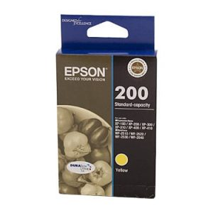 Genuine Epson 200 Yellow ink cartridge - 165 pages