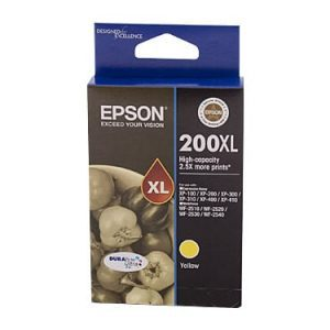 Genuine Epson 200XL Yellow High Yield ink cartridge - 450 pages