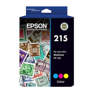Genuine Epson 215 Colour ink cartridge - 250 pages