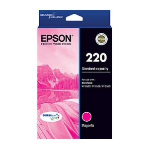 Genuine Epson 220 Magenta ink cartridge - 165 pages