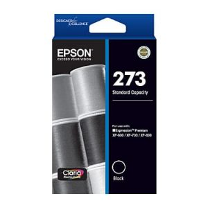 Genuine Epson 273 Black ink cartridge - 250 pages