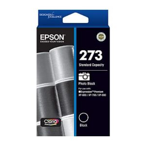 Genuine Epson 273 Photo Black ink cartridge - 250 pages