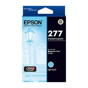 Genuine Epson 277 Light Cyan ink cartridge - 360 pages