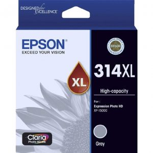 Genuine Epson 314XL Grey High Yield ink cartridge - 800 pages