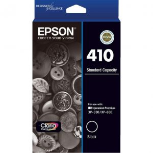 Genuine Epson 410 Black ink cartridge - 175 pages