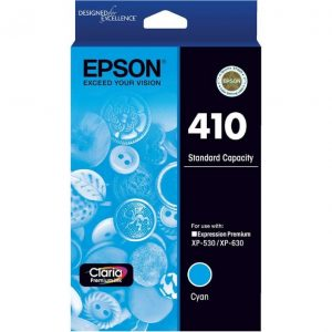 Genuine Epson 410 Cyan ink cartridge - 165 pages