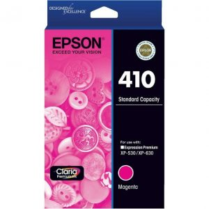 Genuine Epson 410 Magenta ink cartridge - 165 pages