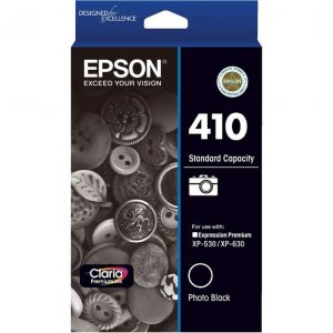Genuine Epson 410 Photo Black ink cartridge - 800 pages