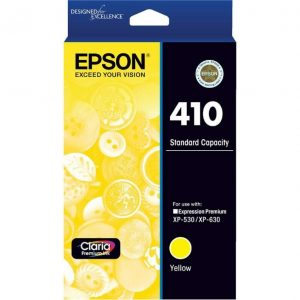 Genuine Epson 410 Yellow ink cartridge - 165 pages