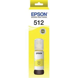 Genuine Epson T512 Yellow ink bottle - 5,000 pages