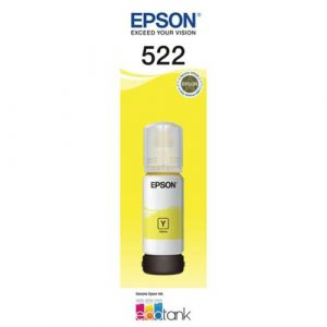 Genuine Epson T522 Yellow ink bottle - 7,500 pages
