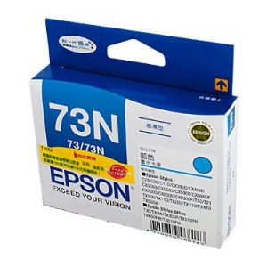 Genuine Epson 73N (T1052) Cyan High Yield ink cartridge - 310 pages