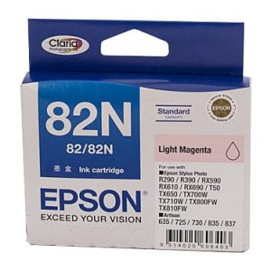 Genuine Epson 82N (T1126) Light Magenta ink cartridge - 330 pages