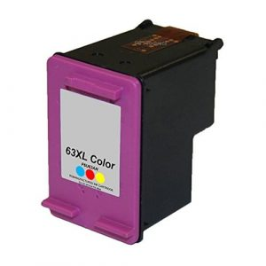 Compatible HP 63XL (F6U63AA) Colour High Yield ink cartridge - 330 pages