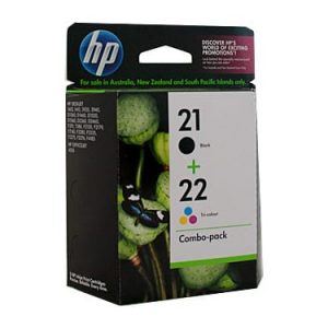 Genuine HP 21 & HP 22 (C9351AA & C9352AA) Value Pack 2pk - see singles for yield