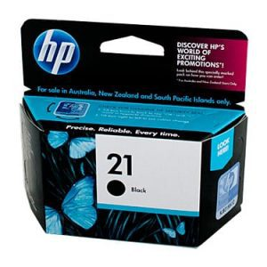 Genuine HP 21 (C9351AA) Black ink cartridge - 185 pages