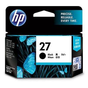 Genuine HP 27 (C8727AA) Black ink cartridge - 220 pages