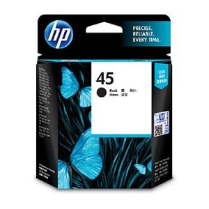 Genuine HP 45 (51645AA) Black ink cartridge - 833 pages