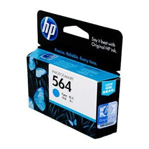Genuine HP 564 (CB318WA) Cyan ink cartridge - 300 pages