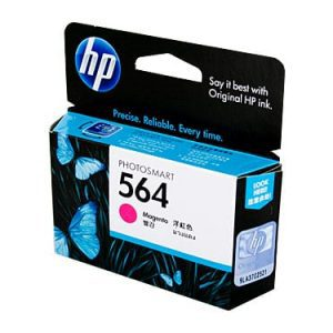 Genuine HP 564 (CB319WA) Magenta ink cartridge - 300 pages