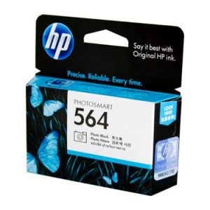 Genuine HP 564 (CB317WA) Photo Black ink cartridge - 130 pages