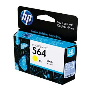 Genuine HP 564 (CB320WA) Yellow ink cartridge - 300 pages