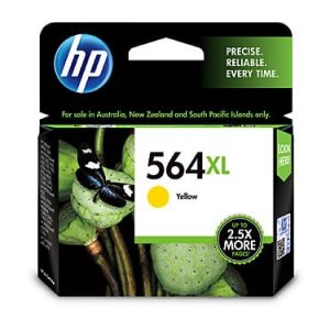 Genuine HP 564XL (CB325WA) Yellow High Yield ink cartridge - 750 pages