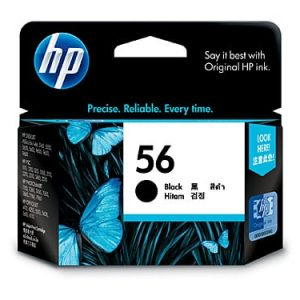 Genuine HP 56 (C6656AA) Black ink cartridge - 450 pages