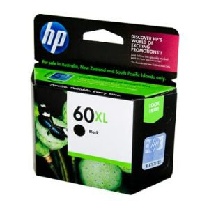 Genuine HP 60XL (CC641WA) Black High Yield ink cartridge - 600 pages