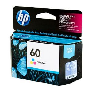Genuine HP 60 (CC643WA) Colour ink cartridge - 165 pages