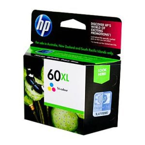 Genuine HP 60XL (CC644WA) Colour High Yield ink cartridge - 440 pages