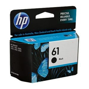 Genuine HP 61 (CH561WA) Black ink cartridge - 190 pages