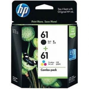 Genuine HP 61 Black & HP 61 Colour (CR311AA) Value Pack 2pk - see singles for yield