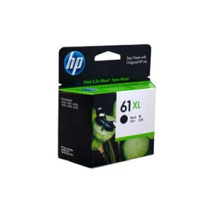Genuine HP 61XL (CH563WA) Black ink cartridge - 480 pages